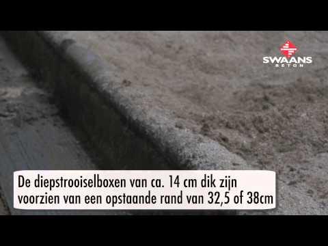 Swaans Beton Diepstrooisel