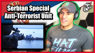Download US Marine reacts to the Serbian Special Anti-Terror Unit (SAJ)