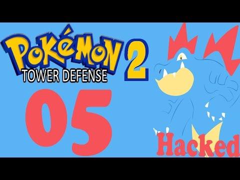 Pokemon Tower Defense 2 Hacked | Ep 5 | Ancient Ruins Part 2 | Mewthree Strikes