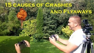 15 Causes of Drone Crashes and Flyaways - Avoid crashing your drone thumbnail