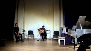 Asturias (Isaac Albeniz) - piano, guitar and percussion