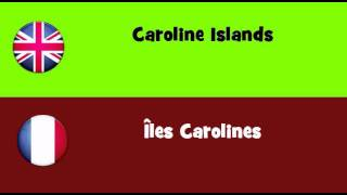 FROM ENGLISH TO FRENCH = Caroline Islands