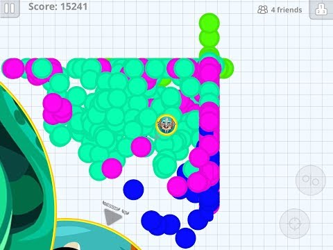 Epic Destroying Teams ???Best Trick and Cannon Splits-Mobile Agar.io