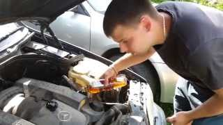Mercedes M112 - помогла ли мне замена маслосъемных колпачков?(, 2014-10-09T15:38:25.000Z)