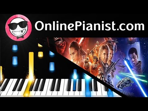 Star Wars: The Force Awakens Trailer (Official) - Piano Tutorial - How to Play