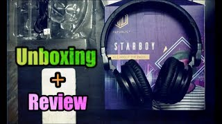 Unboxing - NU Republic Starboy Wireless Headphones With Mic | Special Edition | The Decoders