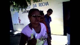 Moradores da comunidade de Jurema, em Jaguaruana, cobram por melhores atendimentos no posto de saúde