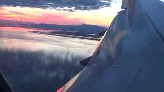 landing at Anchorage International Airport