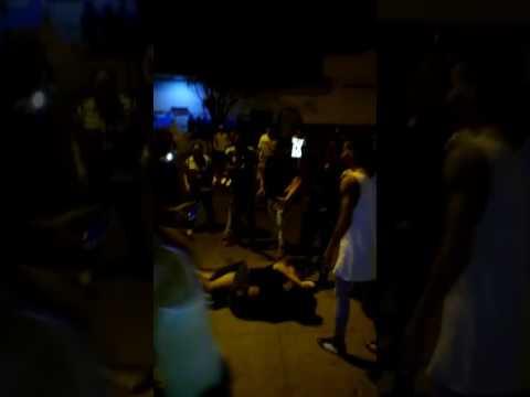 Violencia en las calles de almendro(Camagüey)cuba