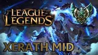 Zagrajmy w League of Legends: Ranked - Xerath Mid - Platyna IV