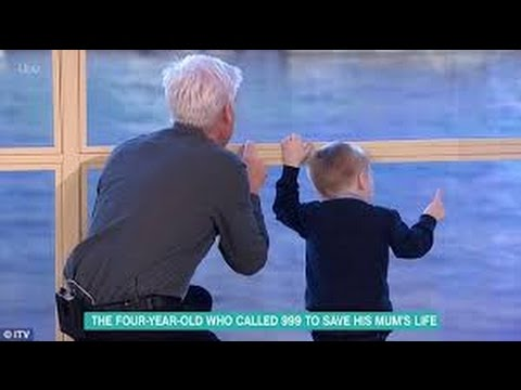 Phillip Schofield exits interview to bond with child