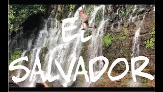 Cliffjumping in El Salvador! Juayua Food Festival Shenanigans