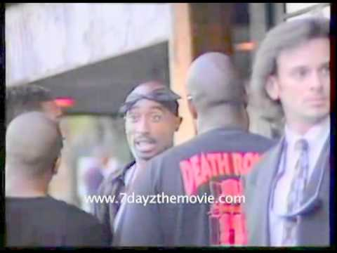 Copy of Rare 2pac clip outside The House of Blues 1996
