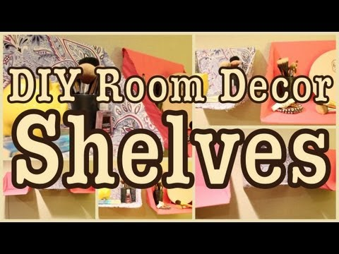 Diy: Room Decor Shelves  Great For Any Room!