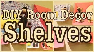 DIY: Room Decor SHELVES | Great For Any Room!