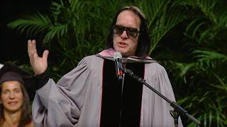 Todd Rundgren Berklee Commencement Address 2017