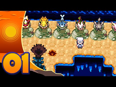 Pokemon Discovery Rom Hack Let's Play W/ Sacred - Episode 1