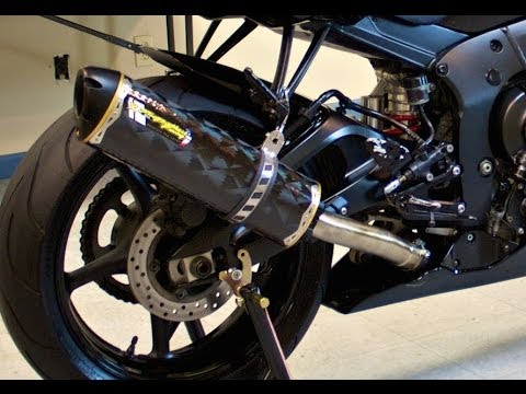 The Best Sounding Exhaust Yamaha R6 Two Brother S