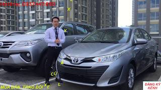 Tư vấn mua xe Toyota Vios E số sàn 2018 2019 KM giá tốt