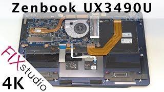 ASUS UX3490U - disassemble [4K]