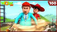 New Episodes Of Chacha Bhatija    Hindi Cartoons For Kids  Twister