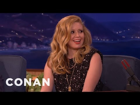 Natasha Lyonne REALLY Hates Bare Flesh  - CONAN on TBS