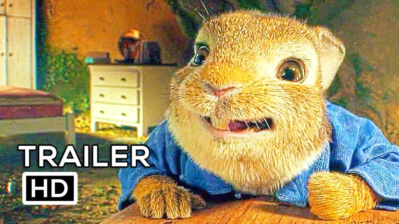 PETER RABBIT Trailer 3 (2018) Margot Robbie, Daisy Ridley Animation Movie HD