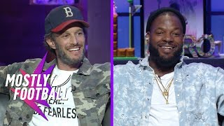 """Martellus Bennett Takes On Comedian Josh Wolf In """"How Many F**ks""""    Mostly Football"""