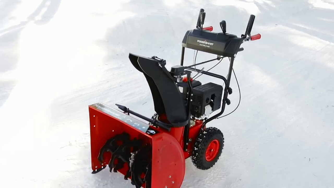 Meet the PowerSmart DB7624E 24-inch Snow Blower