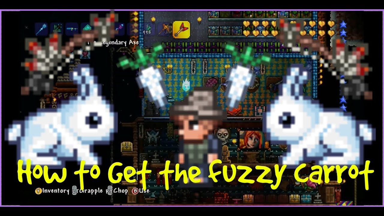 Playstation  How To Get The Fuzzy Carrot  Bunny Mount
