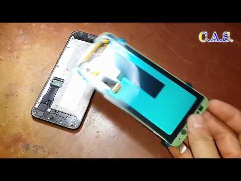 Samsung J6, J600 - Замена экрана и микрофона, разборка, сборка