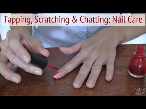ASMR * Theme: Nails & Catching Up * Tapping & Scratching * Soft Spoken * ASMRVilla