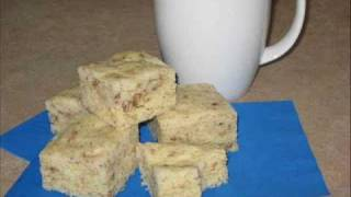 Gluten Free Recipes -- Another Yummee Yummee Recipe! It's A Wholesome And Nutritious Banana Nut Bar.