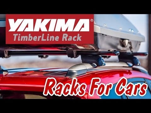 YAKIMA Timberline Kit CoreBars + 4 Towers Complete Base Rack System for Vehicles with Raised Roof Rails