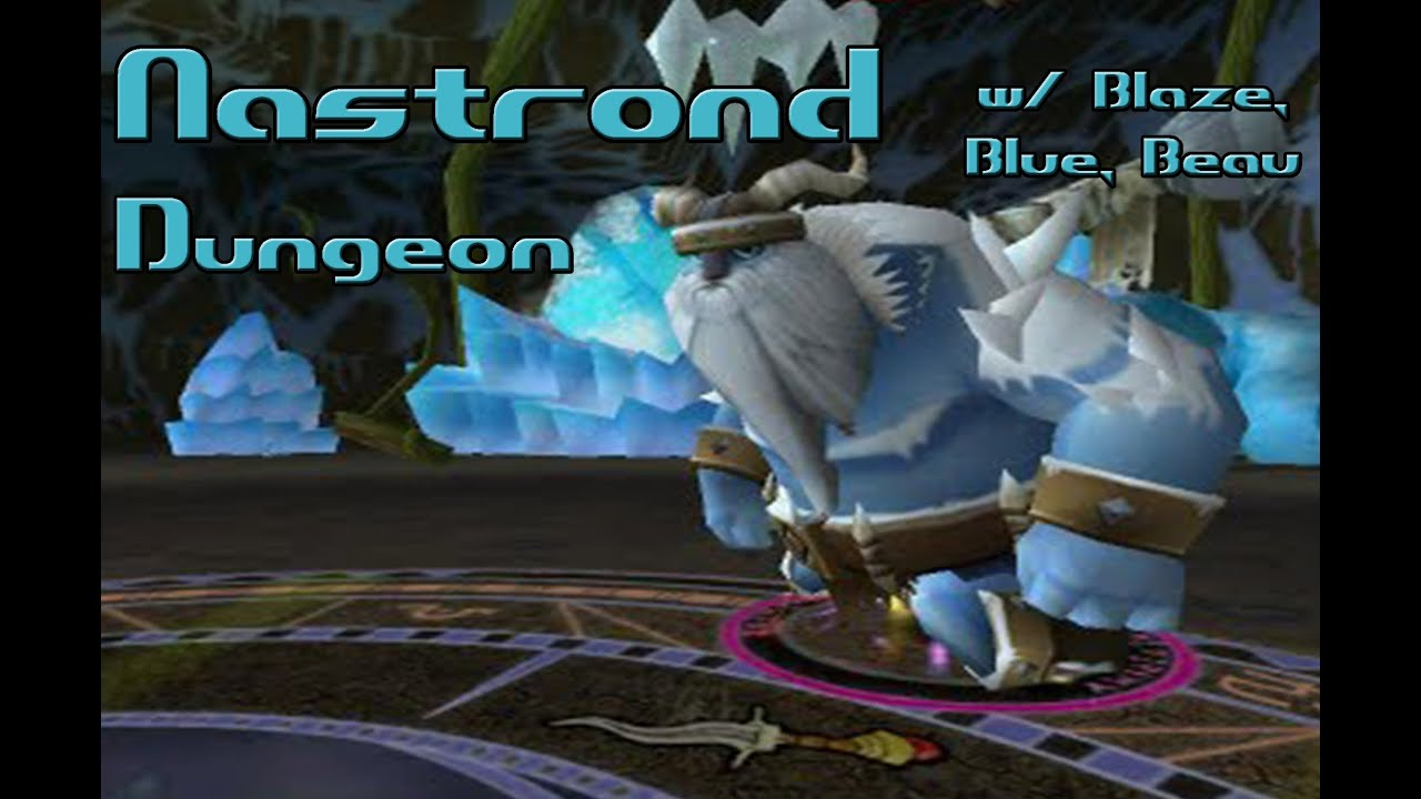 Wizard101: Nastrond Full Dungeon - BlazeLifehammer