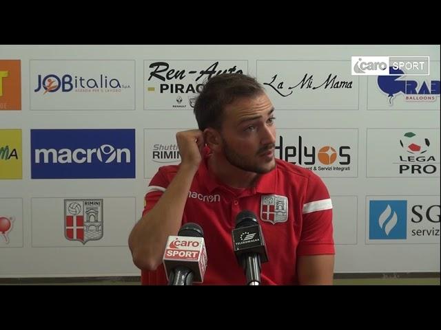 Icaro Sport. Rimini-Pordenone 2-2, il dopogara di Roberto Candido