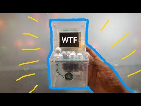 This Mini Arcade Machine Has 240 Games for $37
