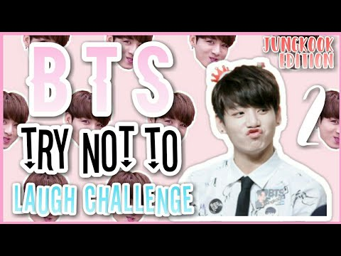 [방탄소년단 정국] BTS TRY NOT TO LAUGH CHALLENGE #2 | JUNGKOOK EDITION [EASY?]