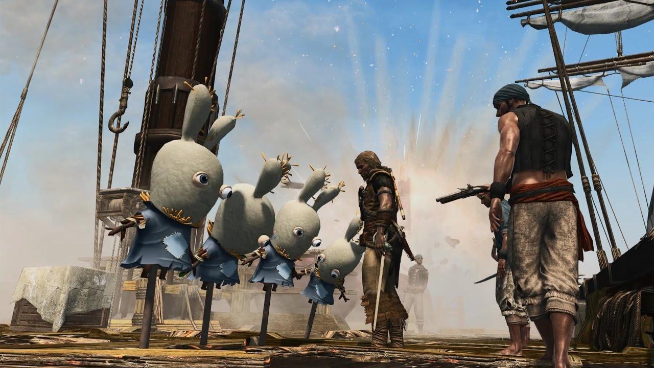 Assassin's Creed IV - Edward Kenway vs. the Rayman Rabbids ...