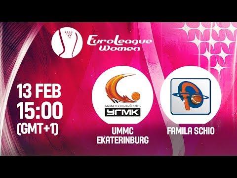 LIVE 🔴 - UMMC Ekaterinburg v Famila Schio - EuroLeague Women 2019