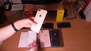 -sia - iphone 8+ gold розпакування АЙФОН 8 ПЛЮС - золотий !! )))))