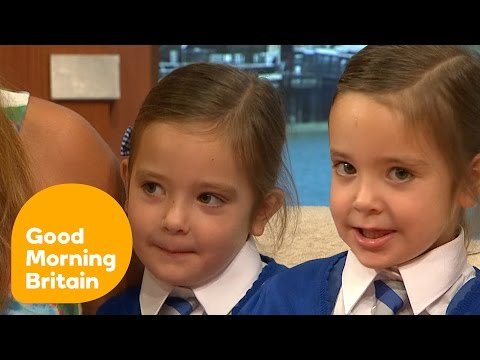 First Day At School For Conjoined Twins | Good Morning Britain
