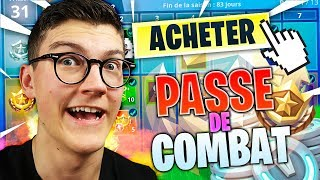 I BUY THE PAS OF COMBAT SAISON 7! FORTNITE Battle Royale