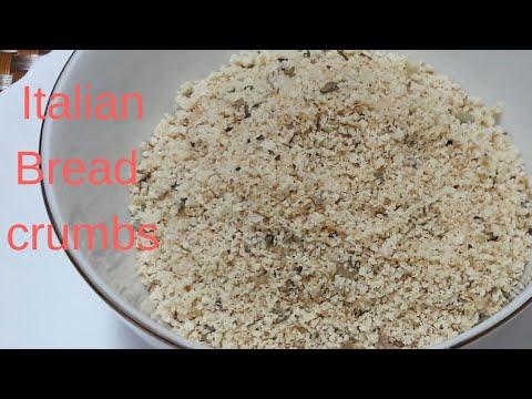 How To Make Italian Bread Crumbs|| Italian Style Bread Crumbs||Recipe By Kitchen With Fatima **