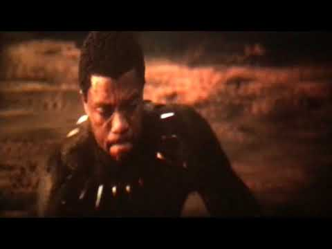 Black Panther 2018 Killmonger Dead Scene Emotional Scene
