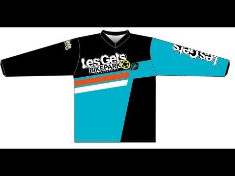 Maillot officiel Les Gets Bikepark 2014