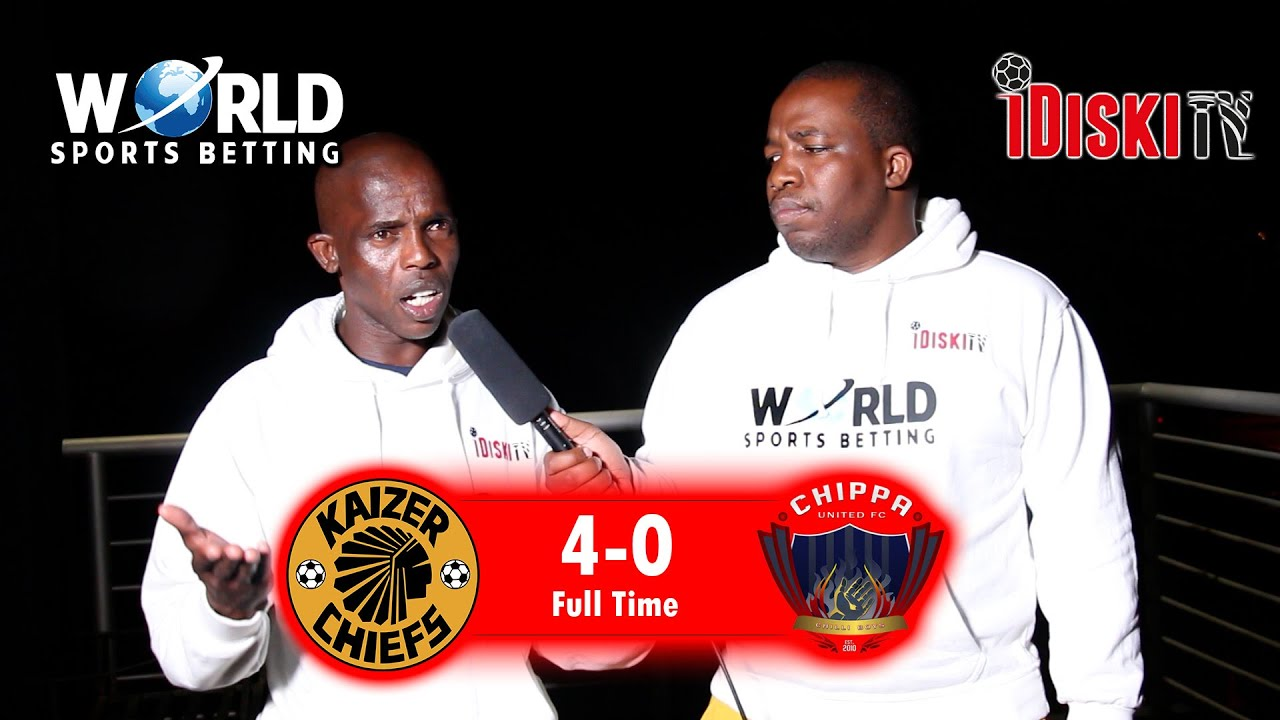 Download Kaizer Chiefs 4-0 Chippa   Ngcobo Not A Midfielder, Criminal Decision By Baxter   Junior Khanye