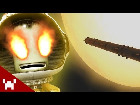 MISSION TO THE SUN! (Kerbal Space Program)