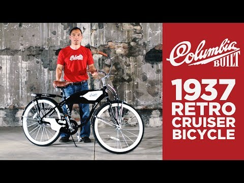 Columbia Bicycles 1937 Retro Cruiser