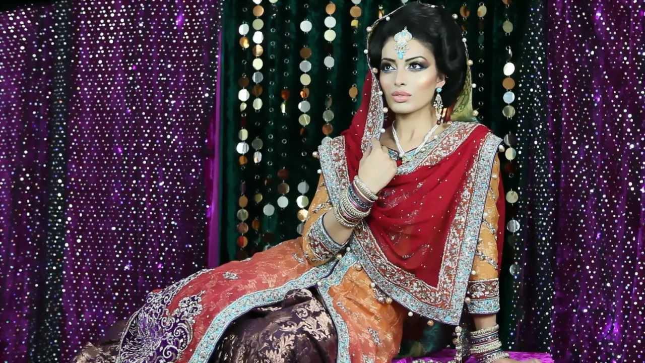 Contemporary pakistani bridal makeup tutorial by madia youtube contemporary pakistani bridal makeup tutorial by madia baditri Images